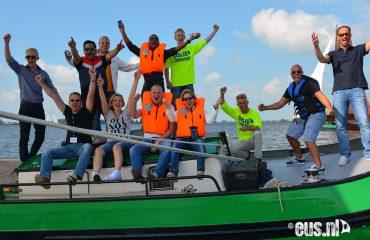 Wedstrijd-zeilen-in-Friesland
